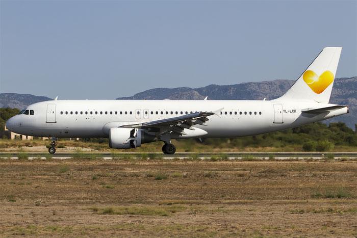YL-LCK A320-214 936 SmartLynx @ Palma del Mallorca Airport 07.2014 © Piti Spotter Club Verona