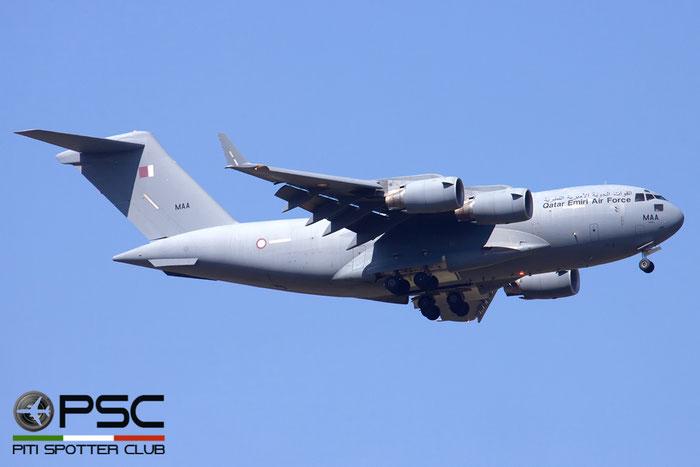 A7-MAA  MAA  C-17A  50209/F208/QA1  10sq  © Piti Spotter Club Verona