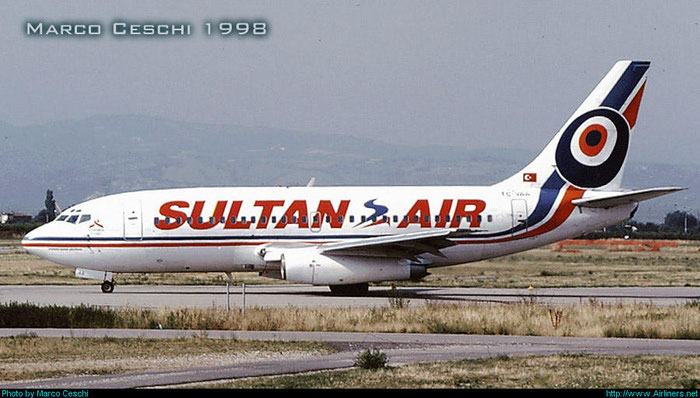 TC-VAA B737-248 19424/147 Sultan Air @ Aeroporto di Verona © Piti Spotter Club Verona