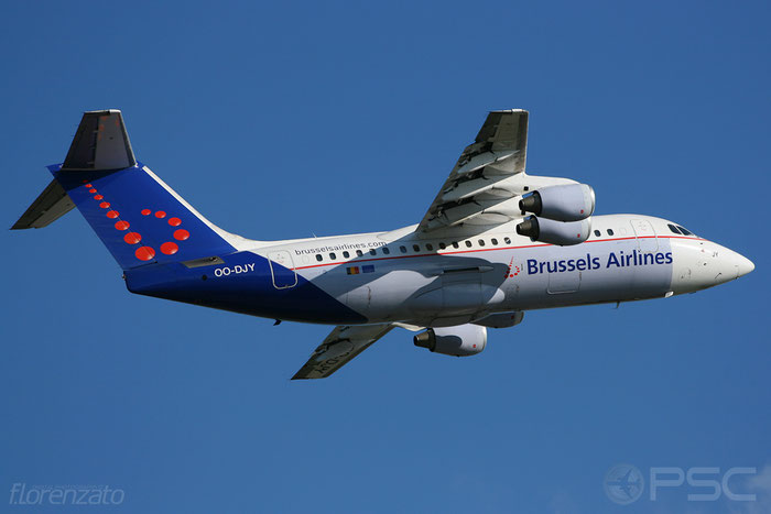 OO-DJY BAe146-RJ85 E2302 Brussels Airlines @ Helsinki Airport 2008 © Piti Spotter Club Verona