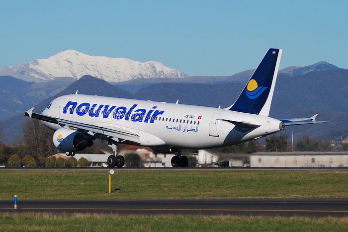 TS-INP A320-214 1597 Nouvelair Tunisie @ Bergamo Airport 05.01.2015 © Piti Spotter Club Verona