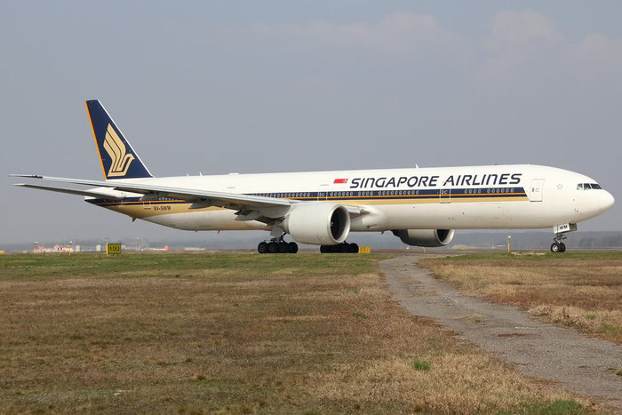 9V-SWM B777-312ER 34578/701 Singapore Airlines @ Milano Malpensa Airport 25.03.2012 © Piti Spotter Club Verona