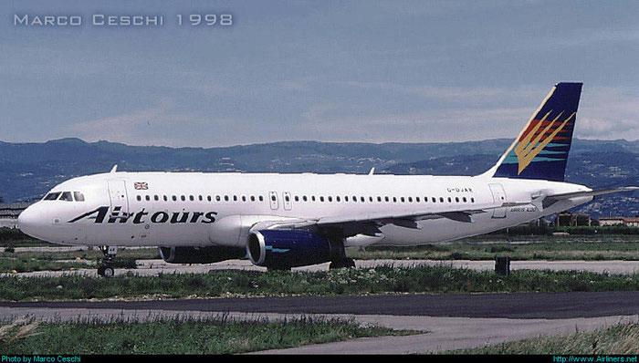G-DJAR  A320-231  164  Airtours International Airways   @ Aeroporto di Verona © Piti Spotter Club Verona
