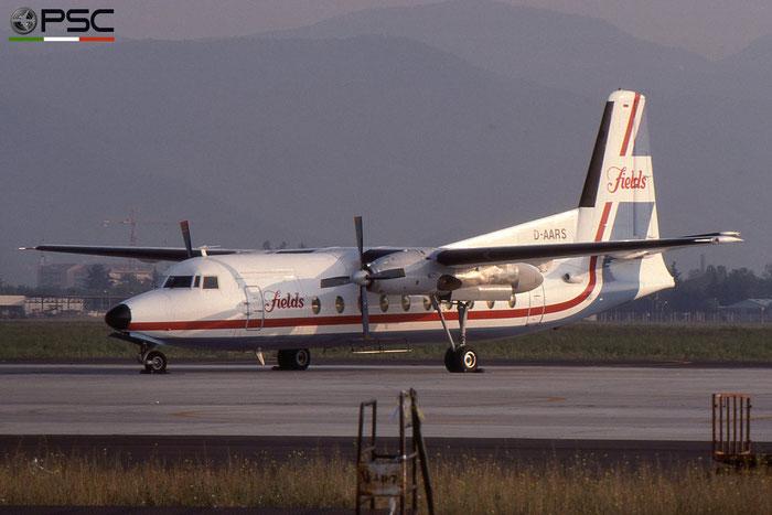 D-AARS F27-600 10450 Field Aviation © 2018 courtesy of Marco Ceschi - Piti Spotter Club Verona