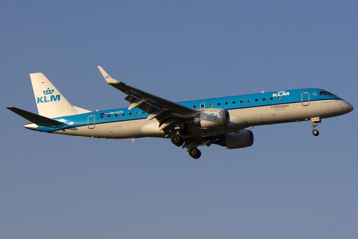 PH-EZS ERJ190STD 19000380 KLM Cityhopper @ Bologna Airport - 14.03.2014  © Piti Spotter Club Verona
