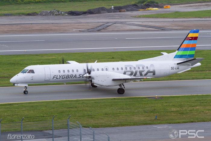 SE-LSE Saab 2000 2000-046 BRA - Braathens Regional Airlines @ Stockholm Bromma Airport 19.08.2016 © Piti Spotter Club Verona
