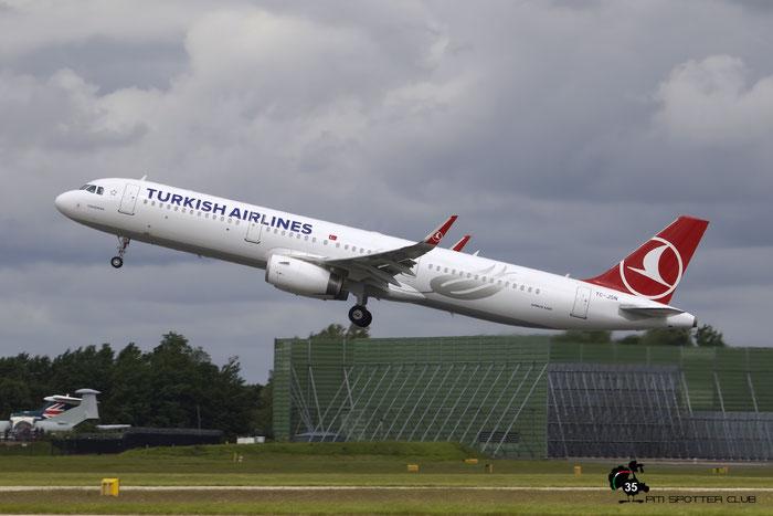 TC-JSN A321-231 6508 Turkish Airlines - THY Türk Hava Yollari @ Manchester Airport 21.09.2015 © Piti Spotter Club Verona