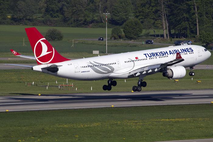 TC-JIT A330-223 977 Turkish Airlines - THY Türk Hava Yollari @ Zurich Airport 05.2016 © Piti Spotter Club Verona