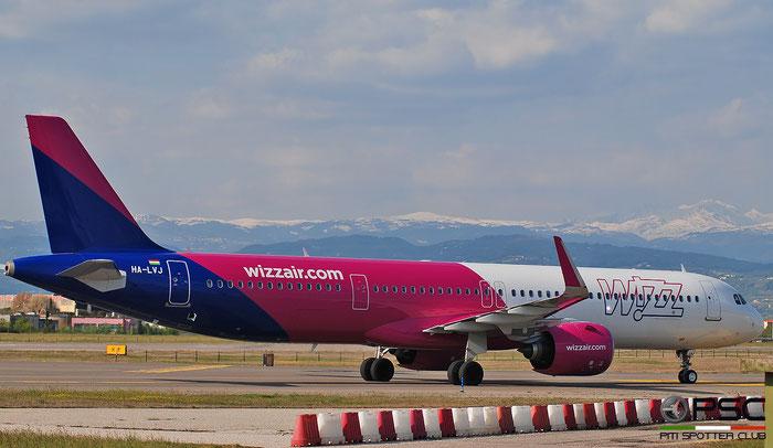 HA-LVJ  A321-271NX  10257  Wizz Air  @ Aeroporto di Verona 2021 © Piti Spotter Club Verona