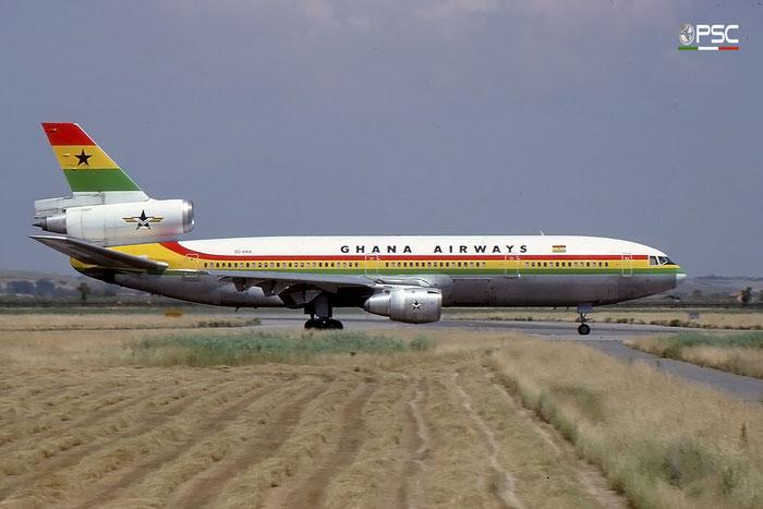 9G-ANA DC-10-30 48286/369 Ghana Airways © 2017 courtesy of Marco Ceschi - Piti Spotter Club Verona