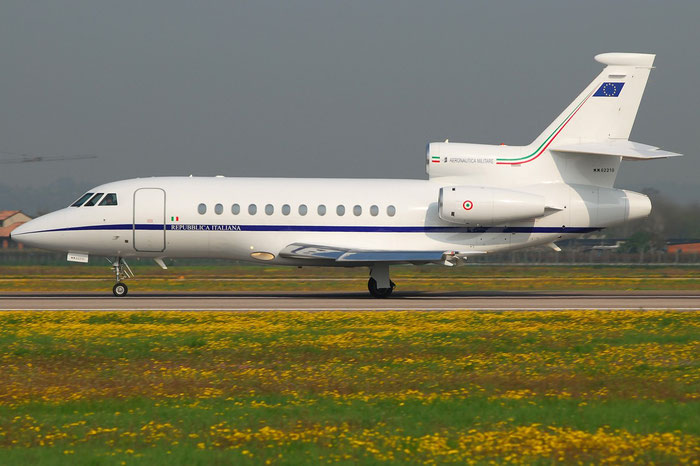 MM 62210 - Italy - Air Force - Dassault Falcon 900EX - MM62210 @ Aeroporto di Verona © Piti Spotter Club Verona