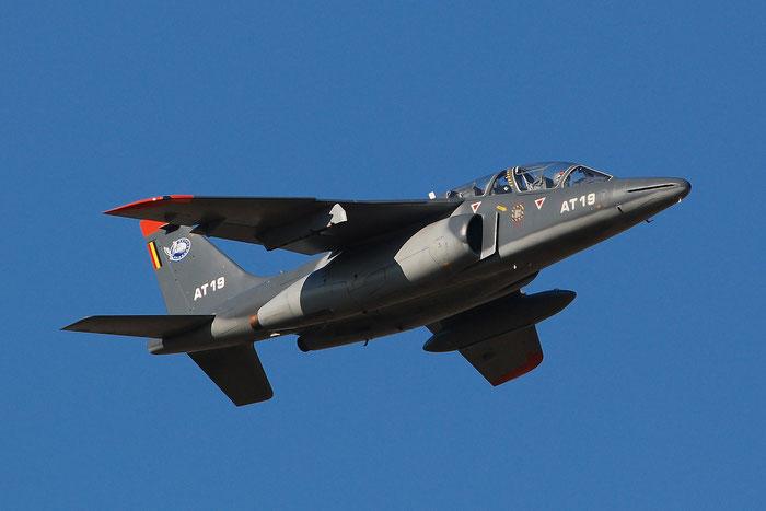 AT19   Alpha Jet 1B+  B19/1071  Beauvechain © Piti Spotter Club Verona