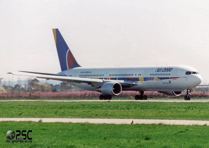 G-OOAN  B767-39HER  26256/484  Air 2000 @ Aeroporto di Verona © Piti Spotter Club Verona