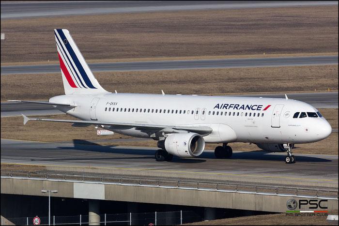 F-GKXV A320-214 4084 Air France @ Munich Airport 14.02.2017 © Piti Spotter Club Verona