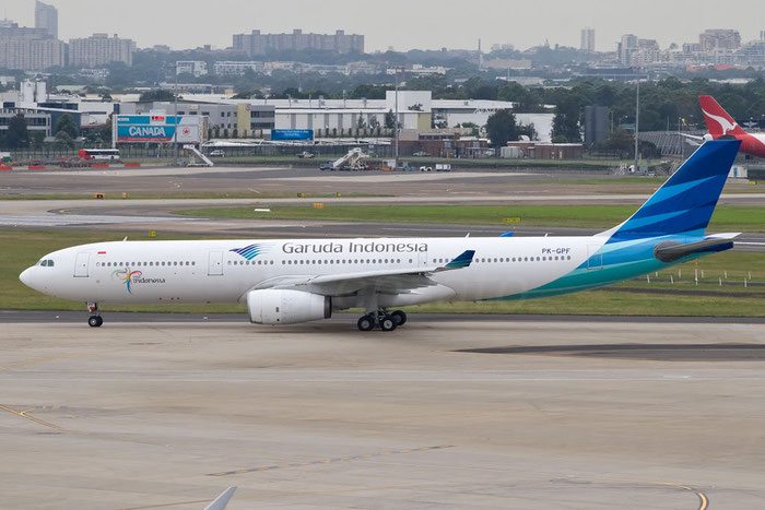 PK-GPF A330-341 153 Garuda Indonesian Airways @ Sydney Airport 16.11.2011 © Piti Spotter Club Verona