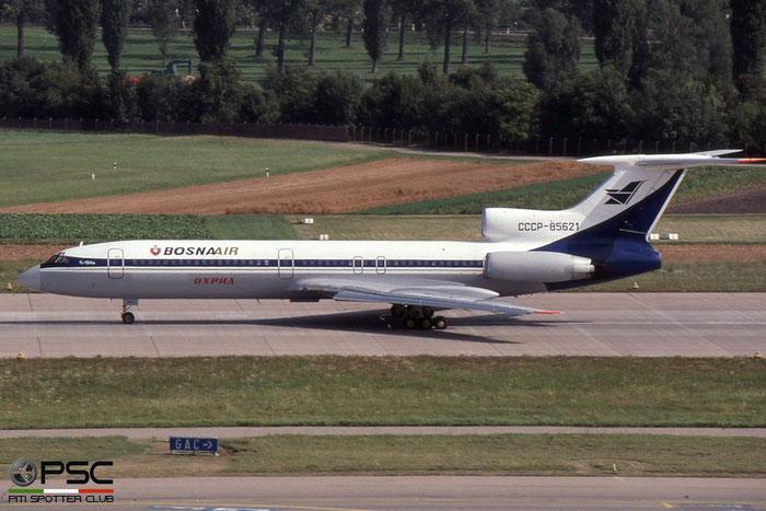 CCCP-85621 86A742 Tu-154M CCCP-85621 Vardar Bosna Air © 2018 courtesy of Marco Ceschi - Piti Spotter Club Verona