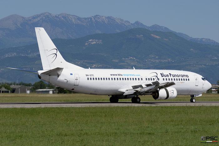 9H-GTC B737-430 27001/2316 Blue Panorama Airlines Lsf Air Horizont @ Aeroporto di Verona 21.05.2017  © Piti Spotter Club Verona