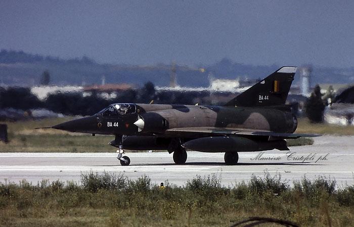 BA44   Mirage 5BA  44 @ Aeroporto di Verona © Piti Spotter Club Verona