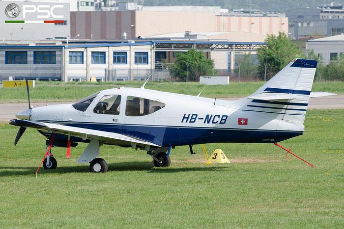 HB-NCB Private Rockwell Commander 112 @ Aeroporto di Bolzano © Piti Spotter Club Verona