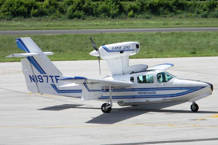 N197TF Aerofab Inc Lake LA-250 LA25 72 Aerofly Inc Trustee @ Aeroporto di Trento © Piti Spotter Club Verona