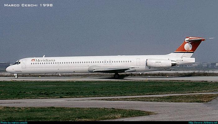 EI-CIW MD-83 49785/1628 Meridiana @ Aeroporto di Verona © Piti Spotter Club Verona