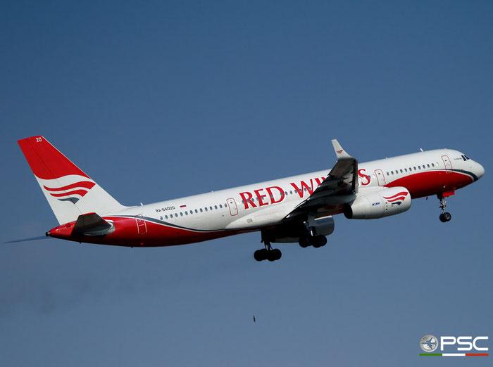 RA-64020 1450743164020 Tu-204-100 RA-64020 Red Wings @ Aeroporto di Verona 22.03.2008  © Piti Spotter Club Verona