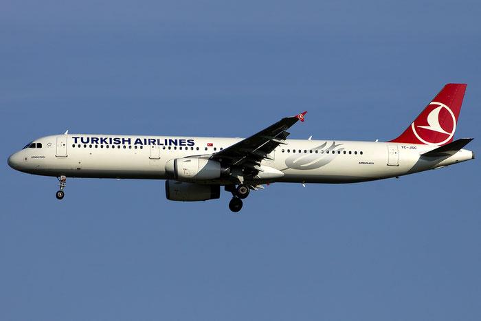 TC-JSC A321-231 5254 Turkish Airlines - THY Türk Hava Yollari @ Venezia Airport 14.08.2014 © Piti Spotter Club Verona