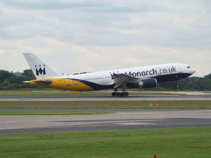 G-MONS A300B4-605R 556 Monarch Airlines @ Manchester Airport 20.07.2012 © Piti Spotter Club Verona