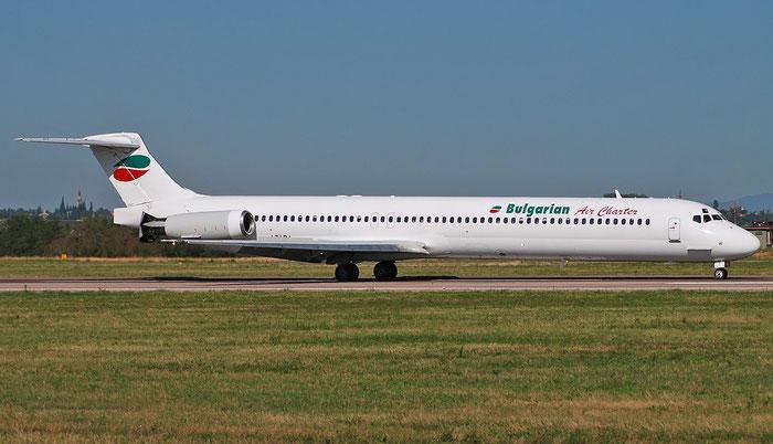 LZ-LDJ MD-82 53230/2106 Bulgarian Air Charter @ Aeroporto di Verona 03.09.2018  © Piti Spotter Club Verona