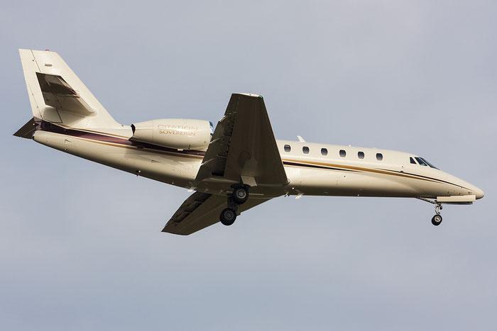 N888SF Ce680 680-0154 Steiner Film Aviation Inc. @ Treviso Airport 03.01.2013 © Piti Spotter Club Verona