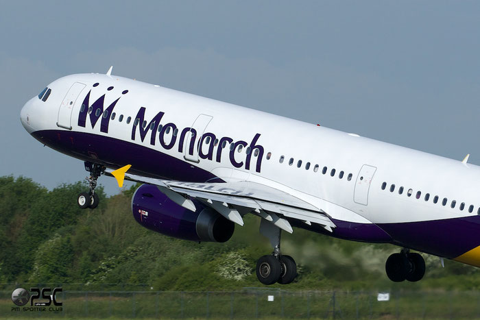 G-OZBO A321-231 1207 Monarch Airlines @ Manchester Airport 13.05.2014 © Piti Spotter Club Verona