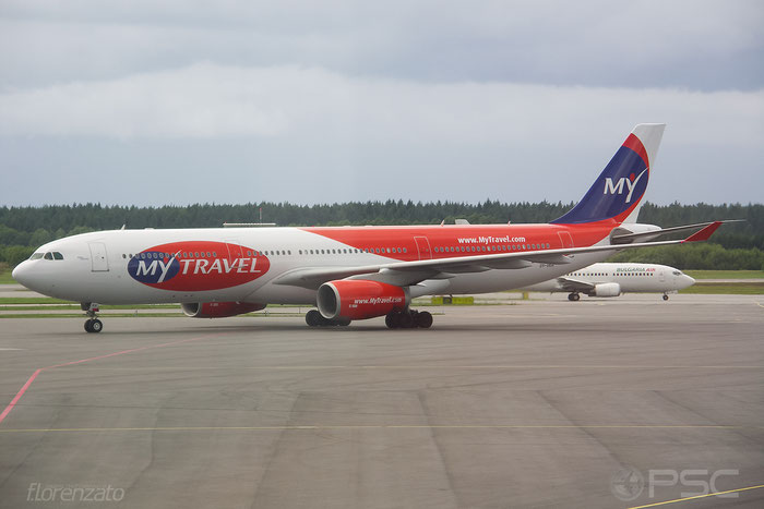 OY-VKH A330-343X 356 MyTravel Airways @ Stockholm Arlanda Airport 2005 © Piti Spotter Club Verona