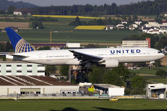 N226UA B777-222ER 30226/380 United Airlines @ Zurich Airport 05.2016 © Piti Spotter Club Verona