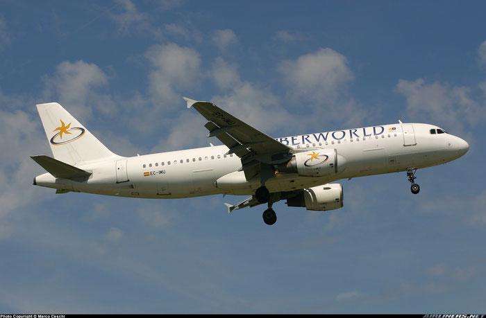 EC-IMU  A320-214  1130  Iberworld Airlines  @ Aeroporto di Verona © Piti Spotter Club Verona