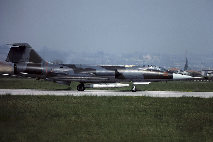 Gli F-104 del Terzo Stormo: 3-36 -  @ Aeroporto di Verona   © Piti Spotter Club Verona