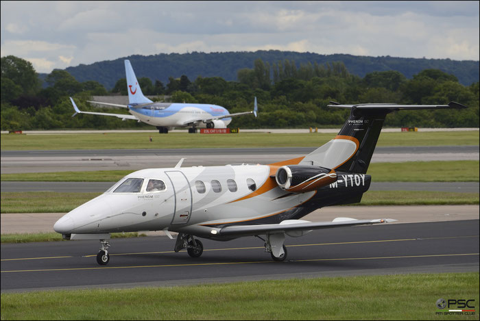 M-YTOY EMB500 50000112 Pool Aviation @ Manchester Airport 21.06.2015 © Piti Spotter Club Verona
