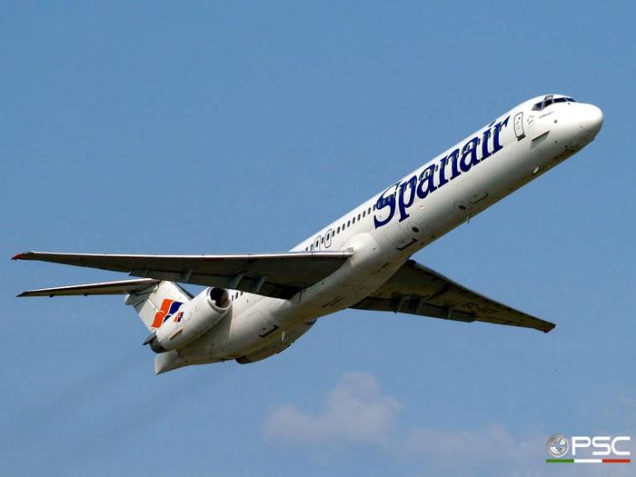 EC-GCV MD-82 53165/2042 Spanair @ Aeroporto di Verona 27.07.2008  © Piti Spotter Club Verona