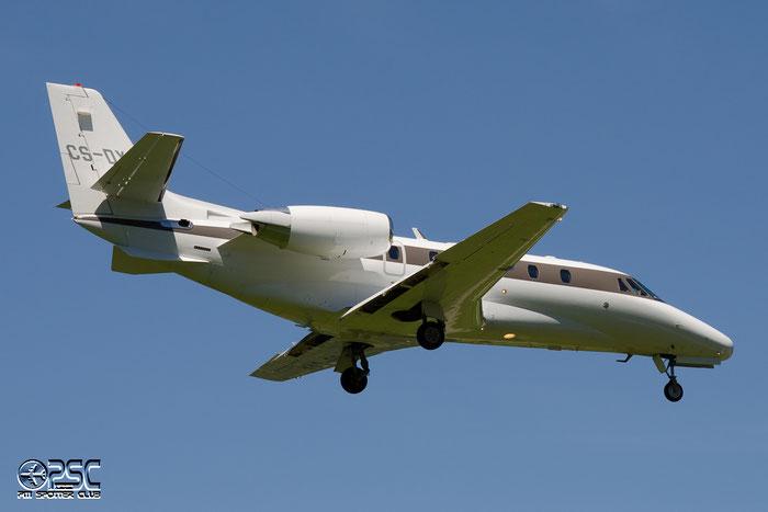 CS-DXA Ce560XLS 560-5549 NetJets Europe @ Aeroporto di Bolzano © Piti Spotter Club Verona