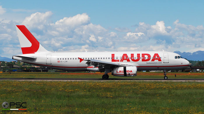 OE-LOM A320-232 2984 LaudaMotion @ Aeroporto di Verona 04.2019  © Piti Spotter Club Verona