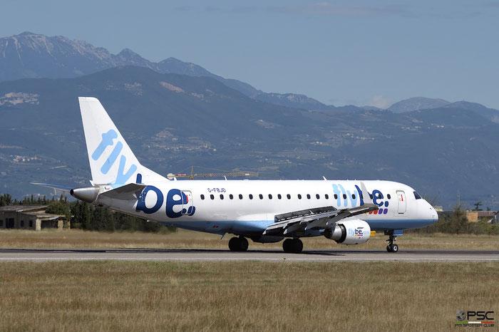 G-FBJD ERJ175STD 17000329 Flybe - British European @ Aeroporto di Verona 12.08.2017  © Piti Spotter Club Verona