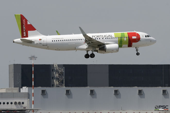 CS-TNS A320-214 4021 TAP Air Portugal - Transportes Aéreos Portugueses @ Milano Malpensa Airport 05.05.2018 © Piti Spotter Club Verona