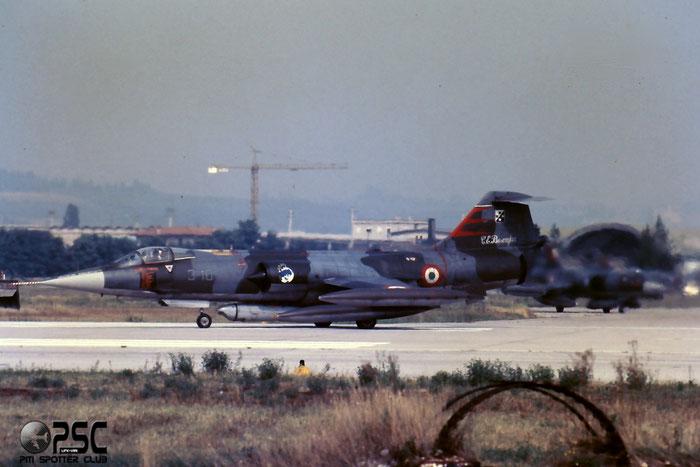 Gli F-104 del Terzo Stormo: 3-10 -  @ Aeroporto di Verona   © Piti Spotter Club Verona