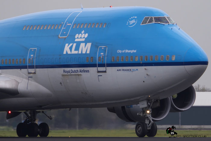 PH-BFW B747-406M 30454/1258 KLM Royal Dutch Airlines @ Amsterdam Airport - 24.10.2015  © Piti Spotter Club Verona