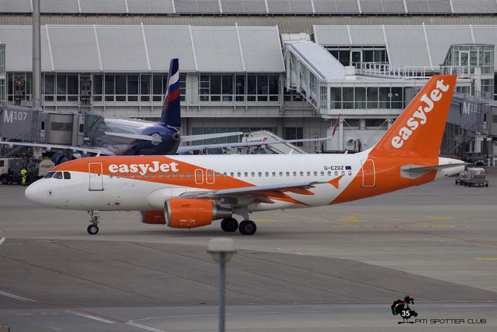G-EZDZ A319-111 3774 EasyJet Airline @ Munich Airport 15.05.2016 © Piti Spotter Club Verona