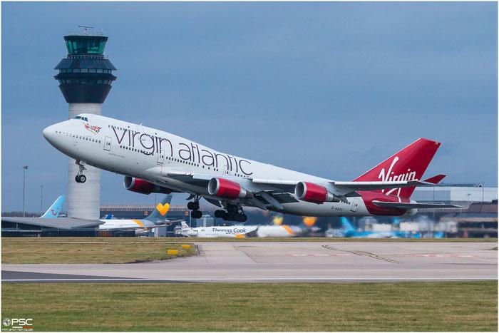 G-VAST  B747-41R  28757/1117  Virgin Atlantic Airways @ Manchester 2015 © Piti Spotter Club Verona