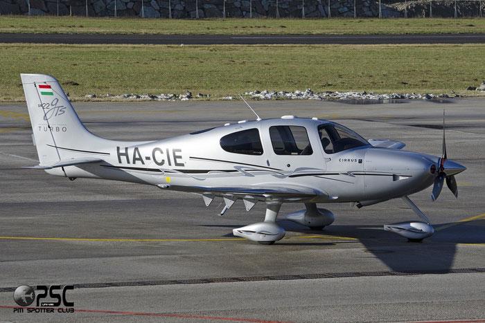 HA-CIE - Cirrus SR22-GTS Turbo - Private @ Aeroporto di Trento © Piti Spotter Club Verona