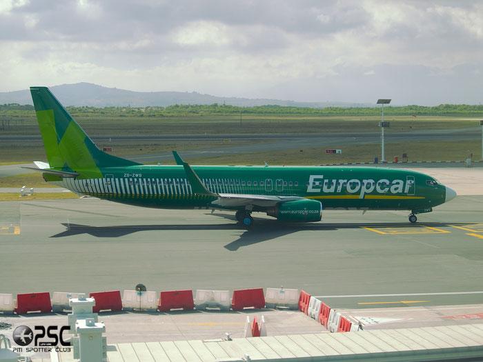 ZS-ZWS B737-86N 32732/1056 Kulula Air @ Cape Town Airport 22.03.2014 © Piti Spotter Club Verona