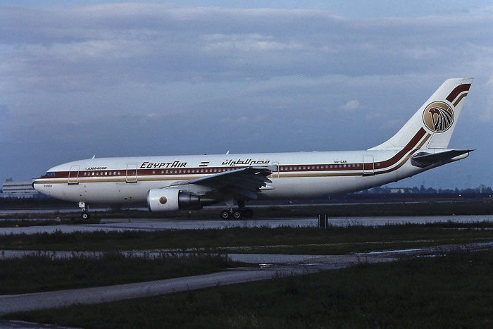SU-GAR A300B4-622R 557 EgyptAir @ Aeroporto di Verona © Piti Spotter Club Verona