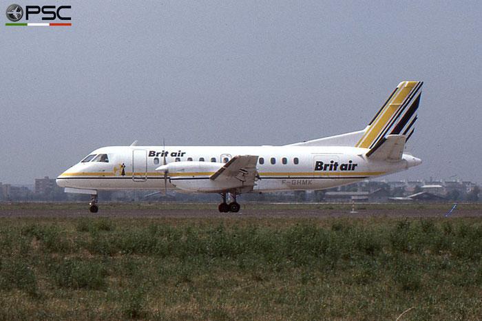 F-GHMK Saab 340A 340A-143 Brit Air © 2018 courtesy of Marco Ceschi - Piti Spotter Club Verona
