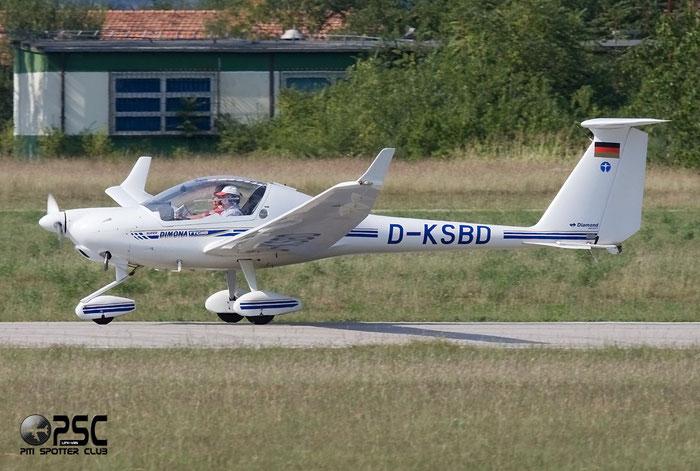 D-KSBD Diamond Aircraft Industries HK-36TTC Super Dimona DIMO @ Aeroporto Verona Boscomantico © Piti Spotter Club Verona